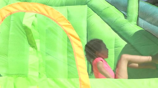 Little Tikes 2-in-1 Wet Dry Bouncer - Charissa's Testimonial - image 4 from the video