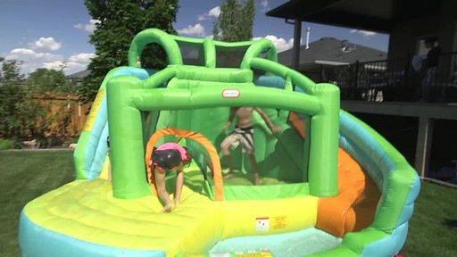 Little Tikes 2-in-1 Wet Dry Bouncer - Charissa's Testimonial - image 6 from the video