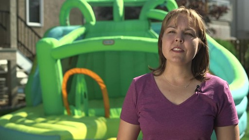 Little Tikes 2-in-1 Wet Dry Bouncer - Charissa's Testimonial - image 9 from the video