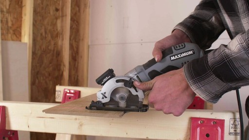 MAXIMUM Heavy-Duty Compact Circular Saw, 3-3/8-in - image 1 from the video