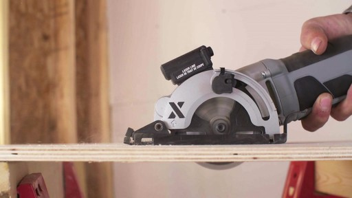 MAXIMUM Heavy-Duty Compact Circular Saw, 3-3/8-in - image 2 from the video
