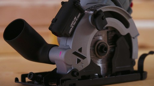MAXIMUM Heavy-Duty Compact Circular Saw, 3-3/8-in - image 4 from the video