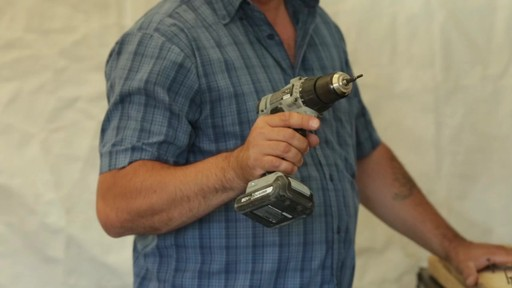 MAXIMUM 20V Max Drill & Driver - Don's Testimonial - image 6 from the video