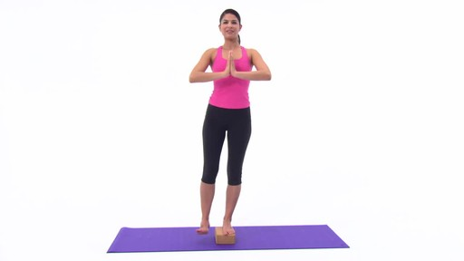 Gaiam Eco Cork Yoga Brick - image 3 from the video