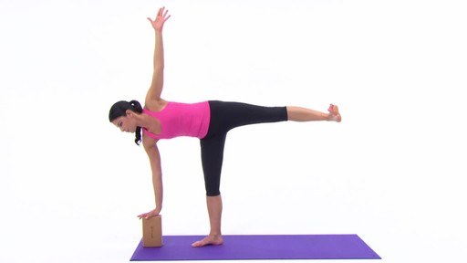 Gaiam Eco Cork Yoga Brick - image 4 from the video