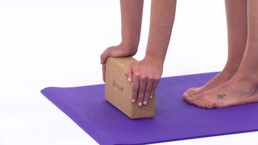 Gaiam Eco Cork Yoga Brick - image 6 from the video