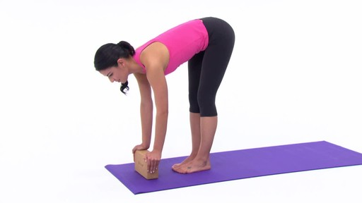 Gaiam Eco Cork Yoga Brick - image 8 from the video
