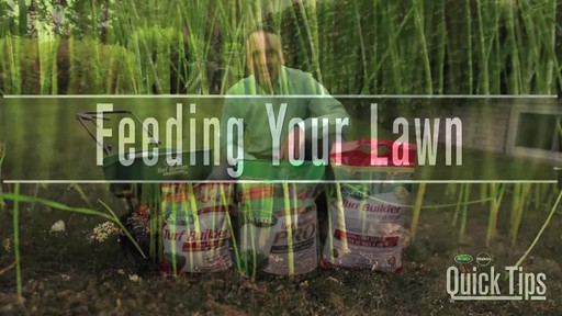 Feeding Your Lawn - image 1 from the video