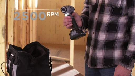MAXIMUM 20V Brushless Impact Driver - image 4 from the video