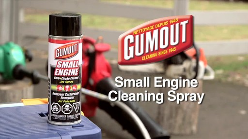 Gumout Small Engine Cleaning Spray - image 1 from the video