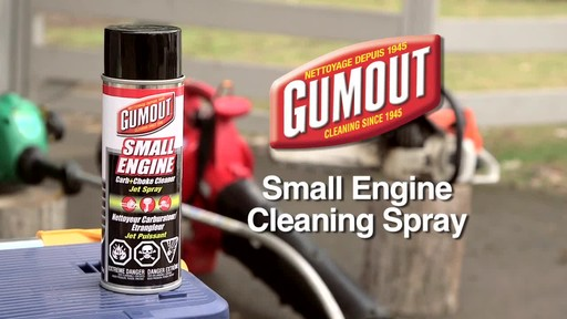 Gumout Small Engine Cleaning Spray - image 10 from the video