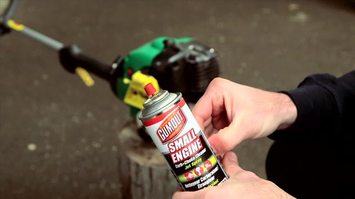 Gumout Small Engine Cleaning Spray - image 4 from the video