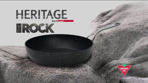 Heritage rock forged non stick cookware english for Art and cuisine cookware review