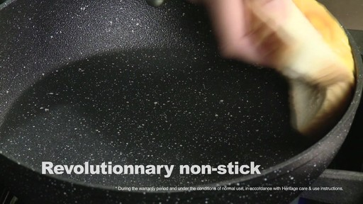 Heritage Rock Forged Non-Stick Cookware - image 4 from the video