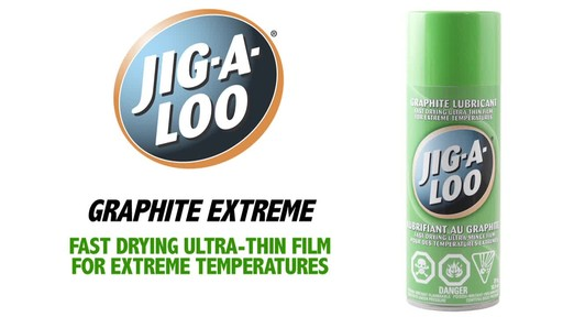 Jig-A-Loo Graphite Extreme Lubricant - image 1 from the video
