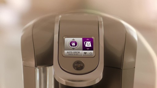 Keurig 2.0- Brewing a Carafe - image 5 from the video