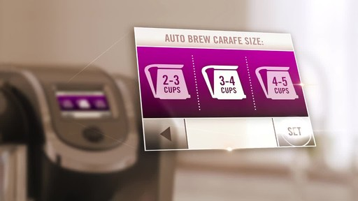 Keurig 2.0- Brewing a Carafe - image 9 from the video