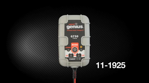 Noco Genius G750 Smart Battery Charger - image 1 from the video