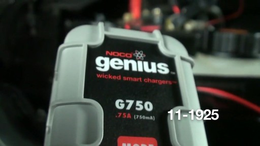 Noco Genius G750 Smart Battery Charger - image 7 from the video