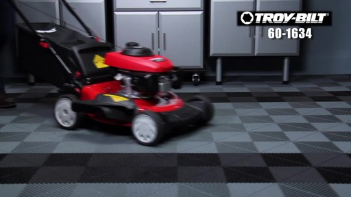 Troy-Bilt Push Lawn Mower, 160 CC - image 1 from the video
