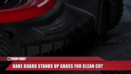 Troy-Bilt Push Lawn Mower, 160 CC - image 3 from the video