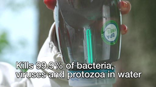 SteriPEN Travel Water Purifier - image 3 from the video