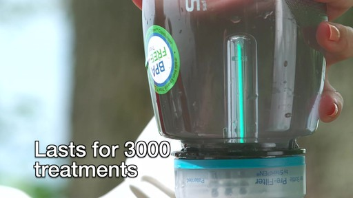 SteriPEN Travel Water Purifier - image 9 from the video