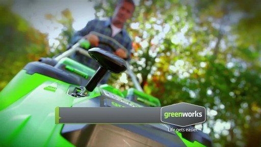 GreenWorks TwinForce 40V 20-in Lithium Cordless Mower - image 4 from the video