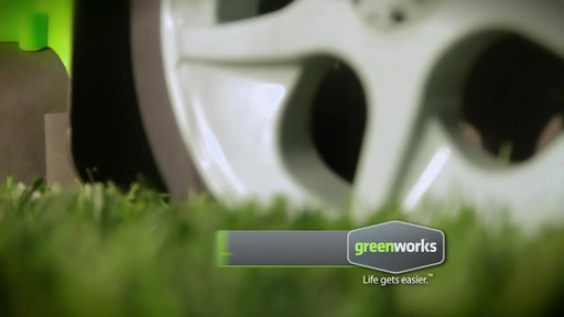 GreenWorks TwinForce 40V 20-in Lithium Cordless Mower - image 6 from the video