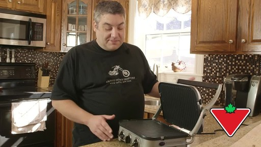 Cuisinart Griddler - Mike's Testimonial - image 8 from the video