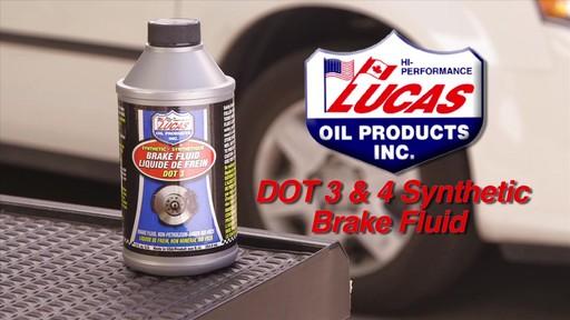 Lucas DOT-3 Brake Fluid - image 1 from the video