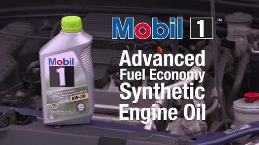 Mobil 1 Advanced Fuel Economy 0W-20 Synthetic Motor Oil - image 1 from the video