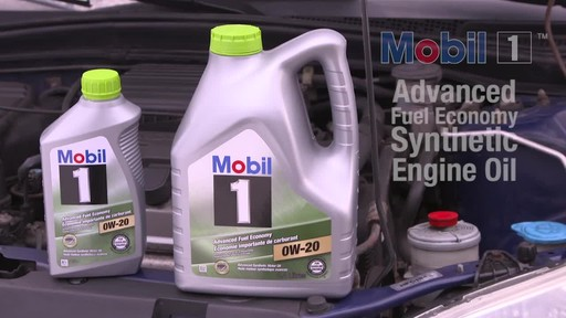 Mobil 1 Advanced Fuel Economy 0W-20 Synthetic Motor Oil - image 10 from the video