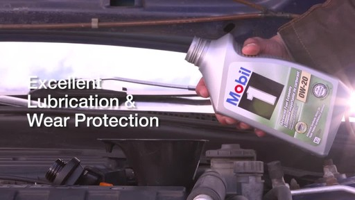 Mobil 1 Advanced Fuel Economy 0W-20 Synthetic Motor Oil - image 3 from the video