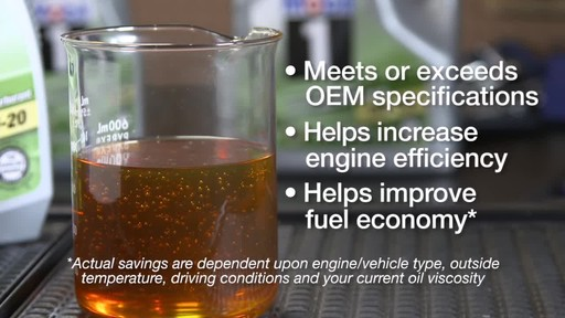 Mobil 1 Advanced Fuel Economy 0W-20 Synthetic Motor Oil - image 8 from the video