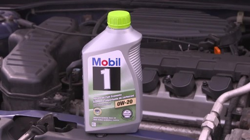 Mobil 1 Advanced Fuel Economy 0W-20 Synthetic Motor Oil - image 9 from the video