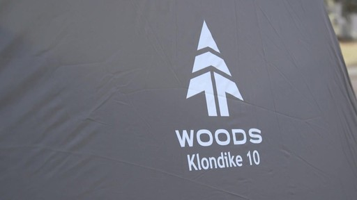 Woods Klondike Cabin Tent - Laura's Testimonial - image 1 from the video