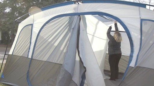 Woods Klondike Cabin Tent - Laura's Testimonial - image 6 from the video