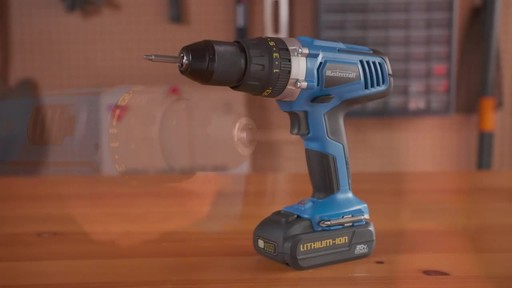 Mastercraft 20V Max Hammer Drill - image 10 from the video
