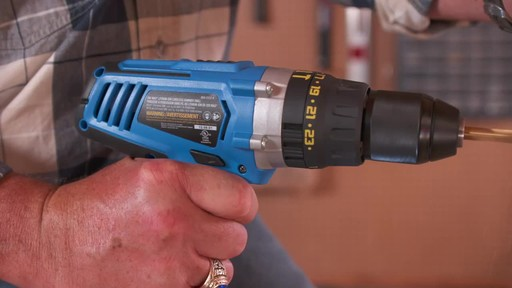 Mastercraft 20V Max Hammer Drill - image 2 from the video