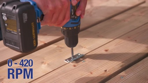 Mastercraft 20V Max Hammer Drill - image 4 from the video