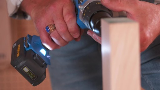 Mastercraft 20V Max Hammer Drill - image 6 from the video