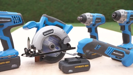 Mastercraft 20V Max Hammer Drill - image 9 from the video