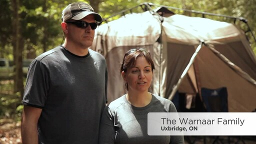 Warnaar Family's Review of the Coleman Instant Tent from Canadian Tire - image 1 from the video