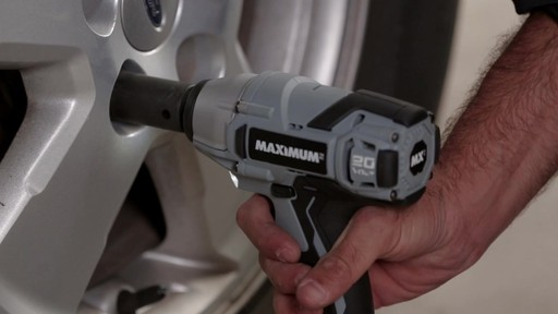 MAXIMUM Impact Wrench - image 7 from the video