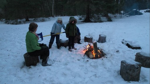 Playing for Canada around the campfire - image 1 from the video
