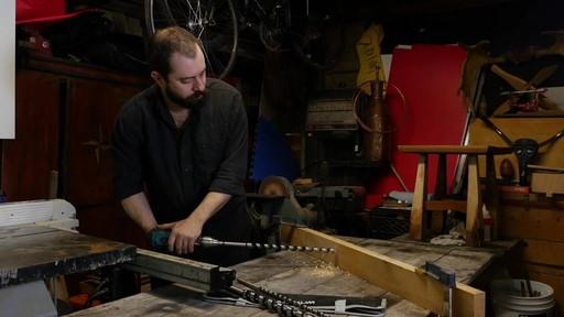 MAXIMUM Long Nail-Cutter Auger Bit Set - Jordan's Testimonial - image 5 from the video