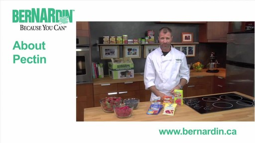 About Pectin - Bernardin - image 1 from the video