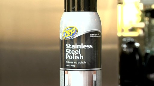 Zep Commercial Stainless Steel Polish 187 English Canadian