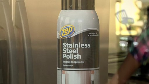 ZEP Commercial Stainless Steel Polish - image 7 from the video